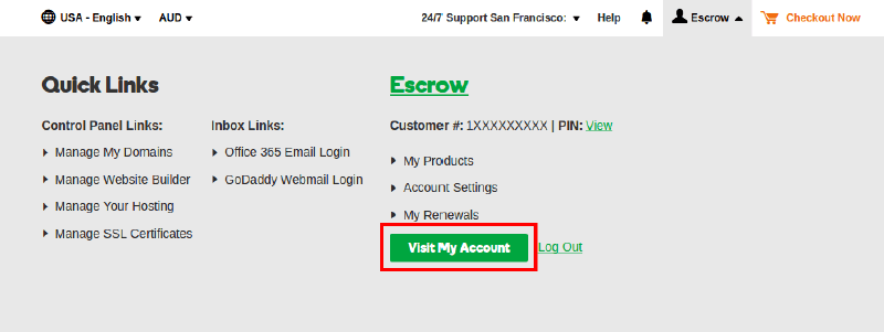 How to transfer a domain from your GoDaddy Account to another