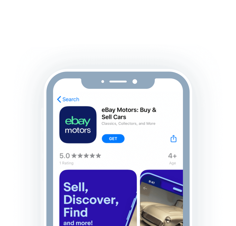 Browse eBay Motors on the web