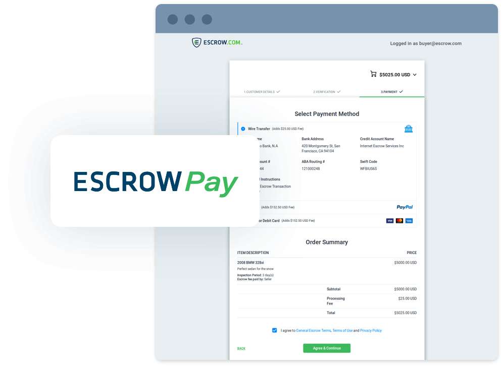 Escrow Pay: Secure payments in one line of code.