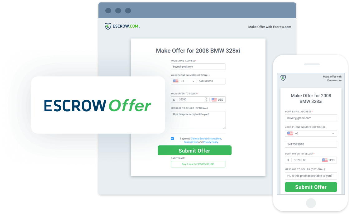 Escrow com | Never buy or sell online without using Escrow com