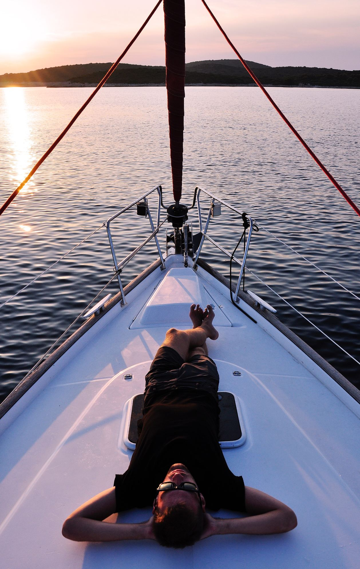 enjoy sailing, not owning